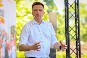 Szymon Hołownia: Będę z ludźmi na placu. Tam jest dzisiaj moje miejsce