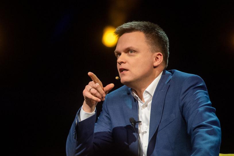 Szymon Hołownia podczas spotkania w Gdańsku /Piotr Hukalo /East News
