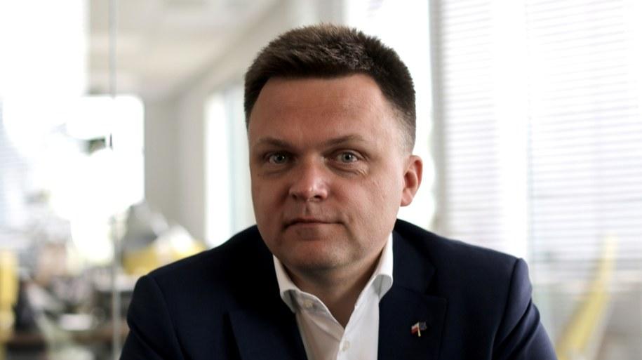 Szymon Hołownia skrytykował ruch Rafała Trzaskowskiego /Karolina Bereza /RMF FM
