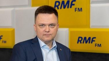 Szymon Hołownia: W niedzielę będę z ludźmi. Nie wiem, czy z liderami