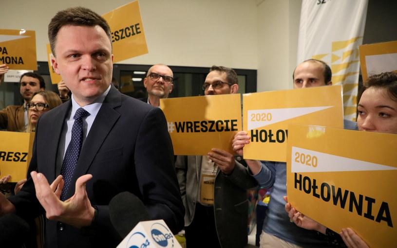 Szymon Hołownia w Piasecznie / Jakub Kamiński    /East News