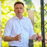 """Szymon Hołownia """"zażartował"""" o Jaśminie. Wąsik i Bosak reagują"""