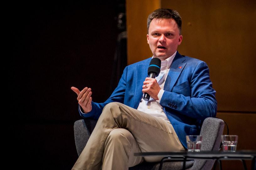 Szymon Hołownia /Marcin Bruniecki /Reporter