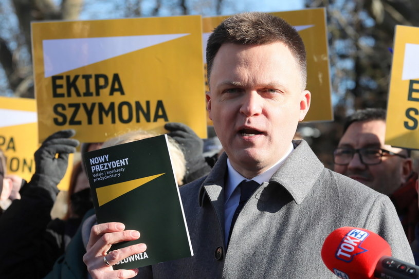 Szymon Hołownia /Paweł Supernak /PAP