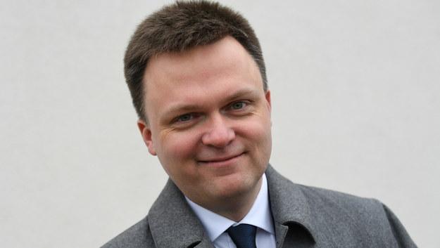 Szymon Hołownia / Adam Warżawa    /PAP