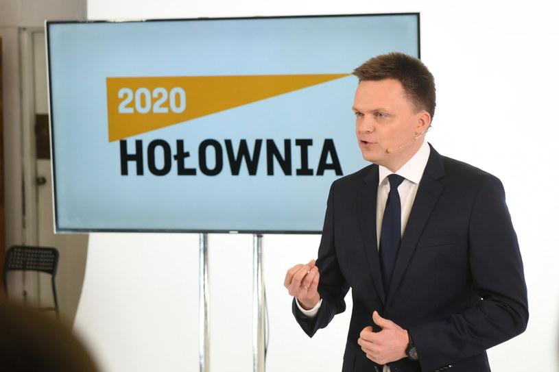 Szymon Hołownia / Radek Pietruszka   /PAP