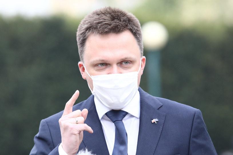 Szymon Hołownia /Fot Tomasz Jastrzebowski /Reporter