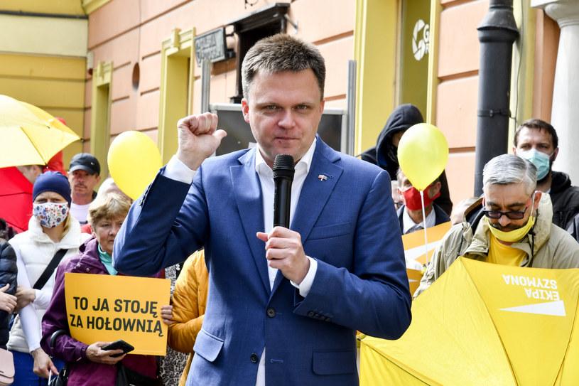 Szymon Hołownia /Marcin Kudas /Reporter