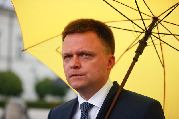Szymon Hołownia /Mateusz Marek /PAP