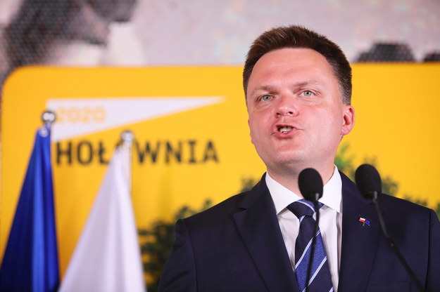 Szymon Hołownia / Leszek Szymański    /PAP