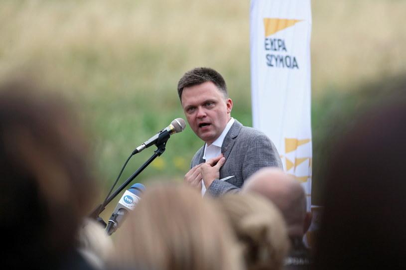 Szymon Hołownia / Lech Muszyński    /PAP