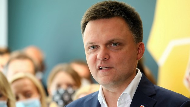 Szymon Hołownia /Rafał Guz /PAP
