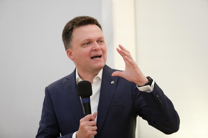 Szymon Hołownia /Andrzej Hulimka  /Agencja FORUM