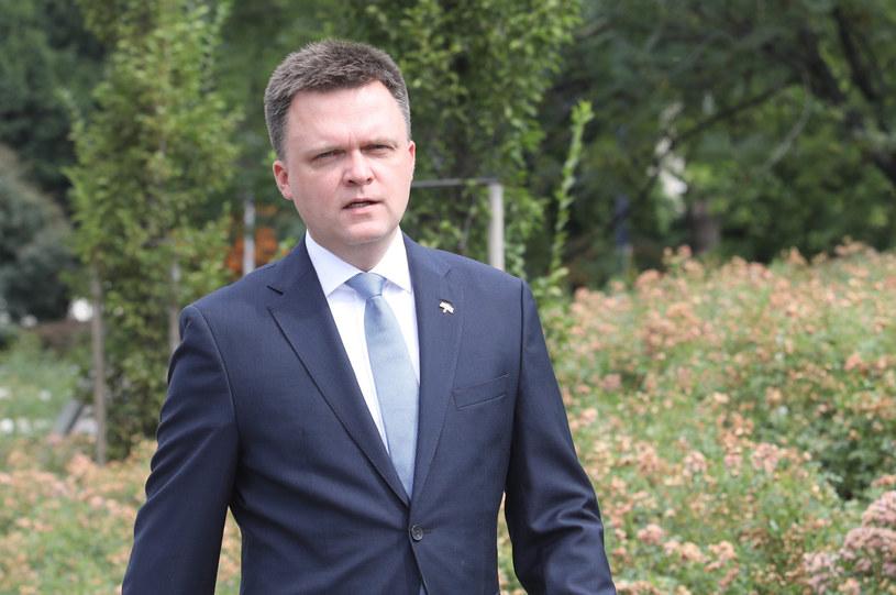 Szymon Hołownia /Tomasz Jastrzebowski/REPORTER /Reporter