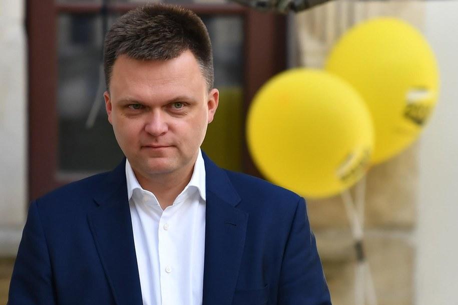 Szymon Hołownia / Piotr Polak    /PAP