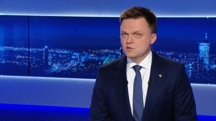 Szymon Hołownia /Polsat News