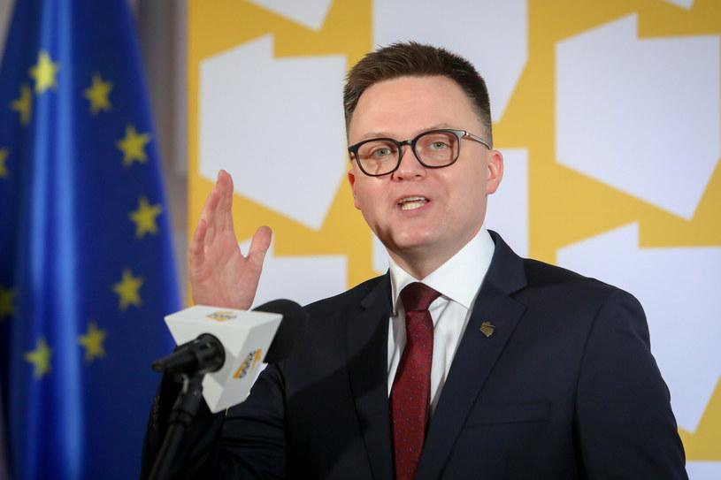Szymon Hołownia /Fot. Tomasz Jastrzębowski/REPORTER /East News