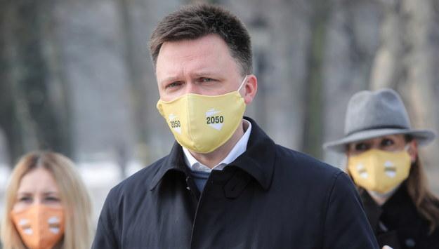 Szymon Hołownia /Wojciech Olkuśnik /PAP