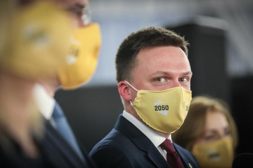 Szymon Hołownia /Andrzej Iwanczuk /Reporter /Reporter