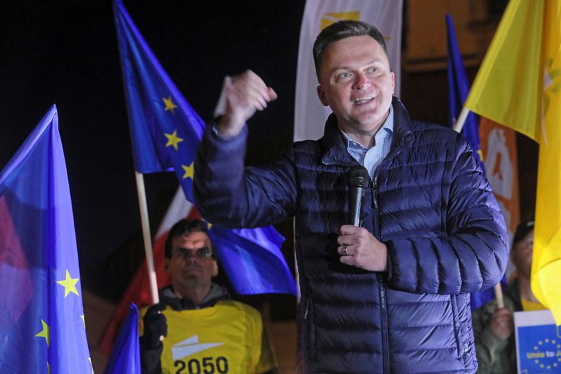 Szymon Hołownia / Artur Reszko    /PAP