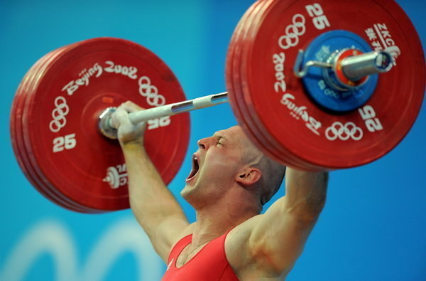 Szymon Kołecki podczas igrzysk w Pekinie w 2008 roku /AFP