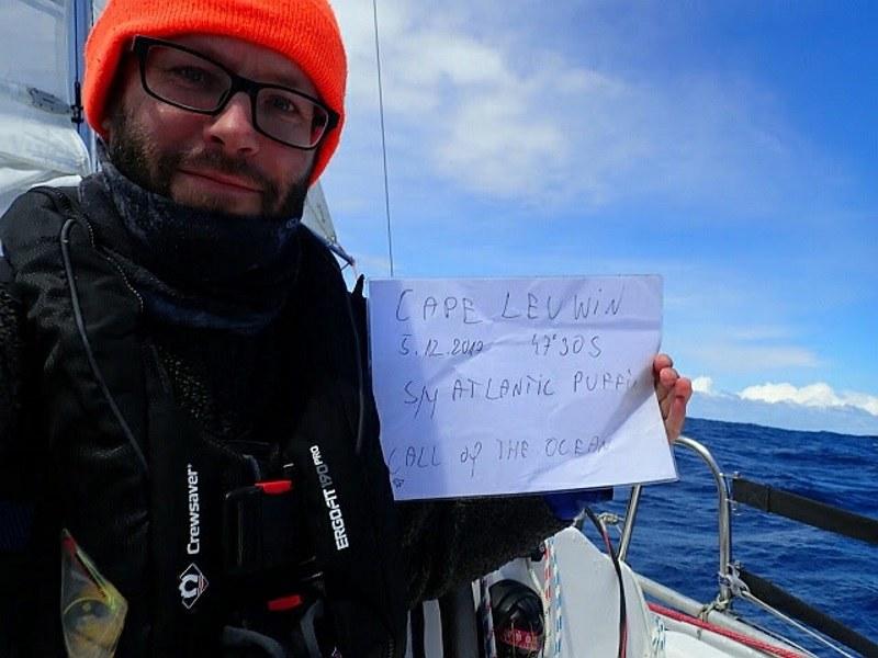 Szymon Kuciński na Cape Leeuwin /materiały prasowe