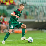 Szymon Lewkot pierwszym takim piłkarzem w Ekstraklasie
