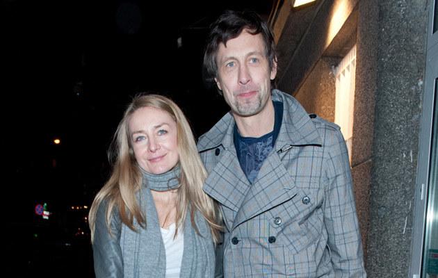 Szymon Majewski z żoną, fot.Jarosław Antoniak  /MWMedia