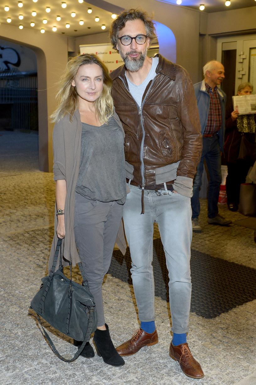 Szymon Majewski z żoną Magdą /Niemiec /AKPA