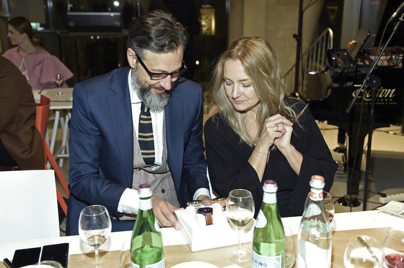Szymon Majewski z żoną Magdaleną /Niemiec /AKPA