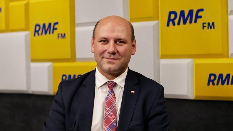 Szymon Szynkowski vel Sęk /Karolina Bereza /RMF FM