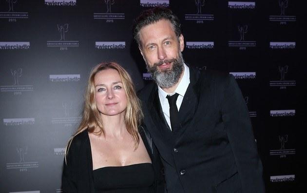 Szymon z żoną /- /MWMedia