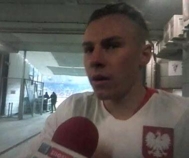 Szymon Żurkowski po meczu młodzieżówki z Portugalią. Wideo
