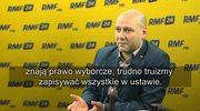 Szynkowski vel Sęk: Przedstawiciele PKW z kwalifikacjami w sprawach wyborczych? Trudno truizmy zapisywać w ustawie