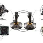 T.16000M FCS Space Sim Duo - nowy wymiar pilotażu