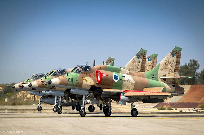 TA-4H Skyhawk.  Fot. Israeli Air Force /materiały prasowe