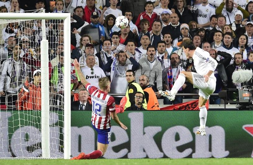 Tą bramką Gareth Bale spłacił swój galaktyczny transfer /AFP