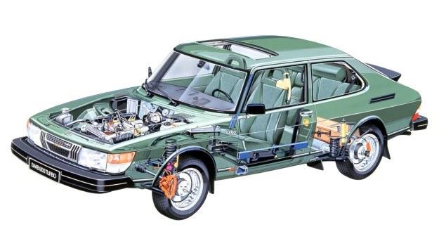 Ta nowoczesna jednostka napędowa z samoczynną regulacją ciśnienia ładowania w zależności od jakości paliwa ma być stosowana we wszystkich modelach firmy. /Saab