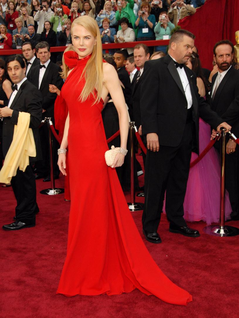 Ta suknia Nicole Kidman na długo zostaje w pamięci /Getty Images