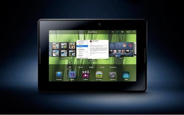 Tablet BlackBerry PlayBook /materiały prasowe