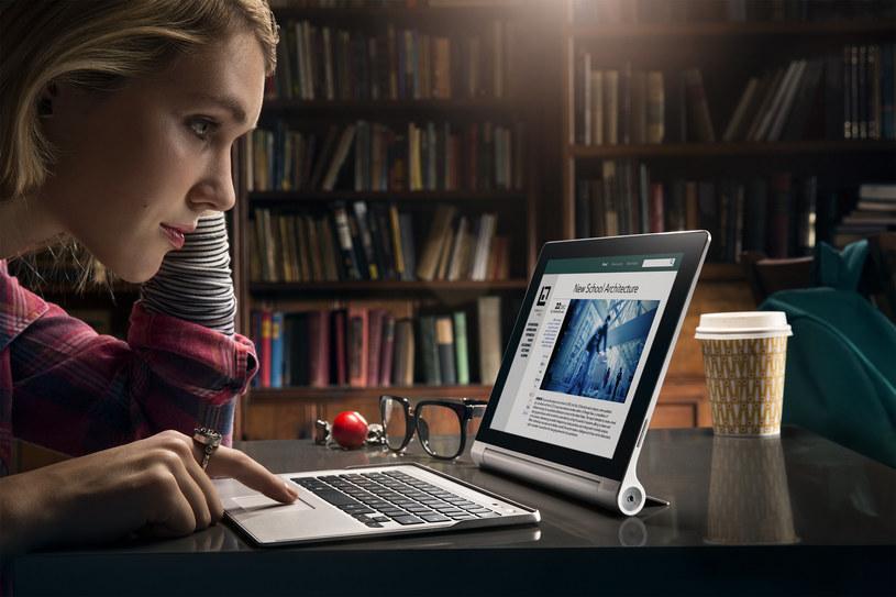 Tablet Lenovo Yoga pracuje stabilnie i szybko reaguje na komendy użytkownika /materiały prasowe
