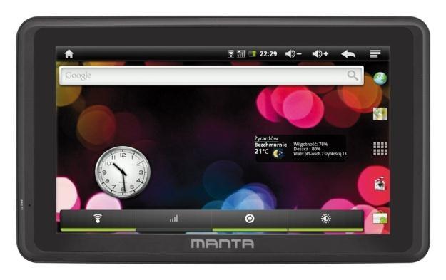 Tablet Manta MID01 - w MediaMarkt za 199 zł /materiały prasowe