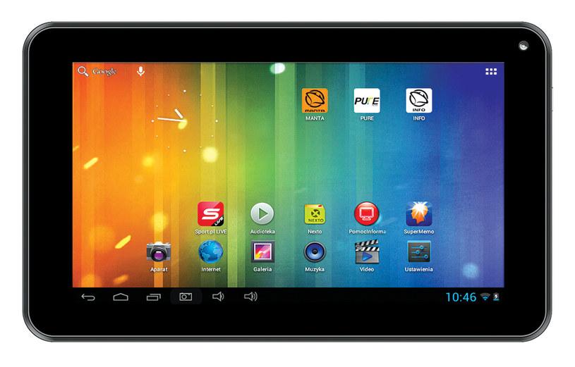 "Tablet PowerTab 7"" MID704 /materiały prasowe"