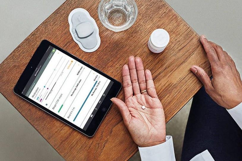 Tabletkę Abilify MyCite można namierzyć przy kontakcie z sokiem żołądkowym /materiały prasowe