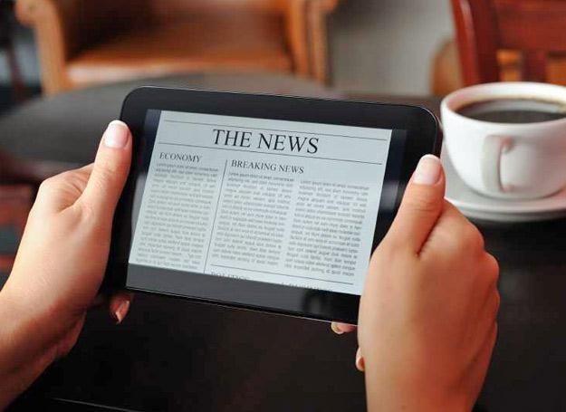 Tablety mogą być przyszłością prasy /materiały prasowe