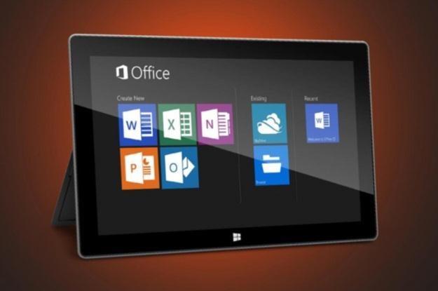 Tablety z Windowsem 8 RT dostaną okrojonego Office'a 2013 /materiały prasowe