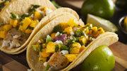 Tacos z mango i wołowiną