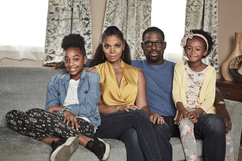 """""""Tacy jesteśmy"""": Beth i Randall z córkami, Annie i Tess /FOX"""