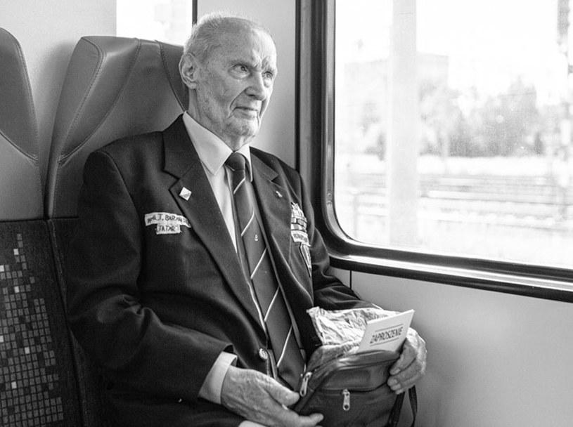 Tadeusz Barański miał 96 lat /IPN