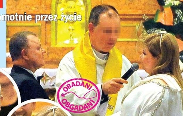 Tadeusz Chudecki w dniu ślubu /Rewia
